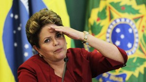 Dilma consternada