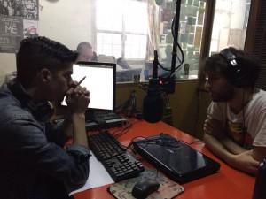 Los hermanos laser pasaron por La Mañana de UNI Radio