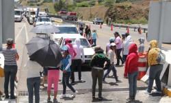 Feroz represión policial hacia los maestros en México