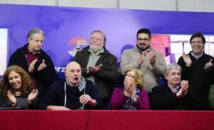 Primeras impresiones de las elecciones del Frente Amplio. Foto M. Bonjour - Medio Diario El País