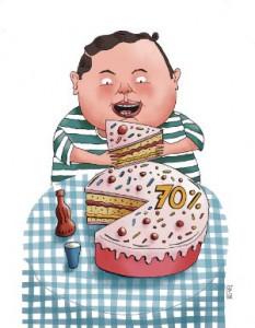 Chile aplica políticas fuertes contra la obesidad infantil