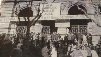 Protestas por muerte de Líber Arce