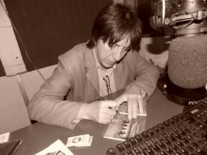 Sergio Fernández en  El Garagje de UNI Radio