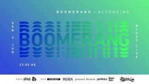 Boomerang en Bluzz Live