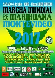 Marcha Mundial de la Marihuana Montevideo 2017