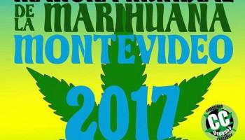 Marcha Mundial de la Marihuana Montevideo 8-7-2017
