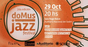 Domus Jazz Festival 2da Edicion
