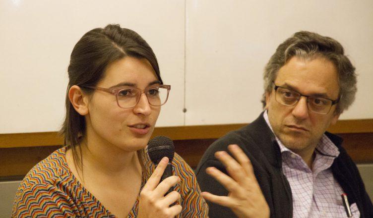 Gabriela Pasturino y Rodrigo Arim. Foto: Portal UdelaR