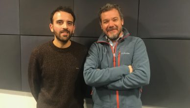 Iván Fernández y Gonzalo Vicci. FOTO: UNI Radio.