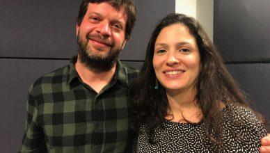 Lula Carvalho y Natasha Neri. FOTO: UNI Radio.