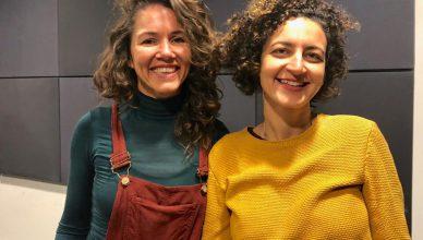 Camila Freitas y Eliza Capai. FOTO: UNI Radio